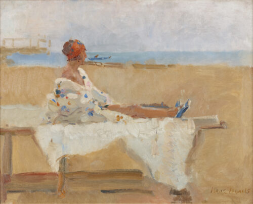 Isaac Israels-Sunbathing, Viareggio, Italy