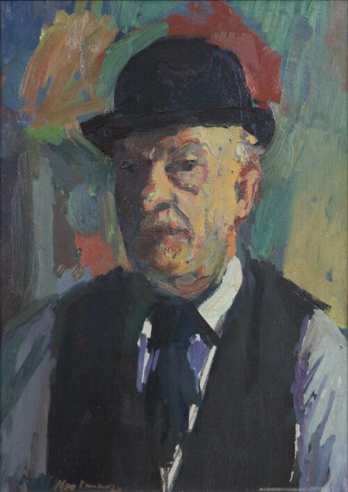 Kees Verwey-Self portrait