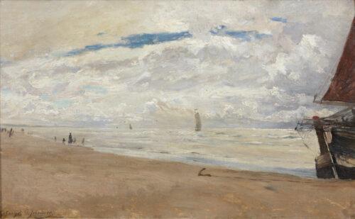 Olaf August Anders Jernberg-Katwijk beach