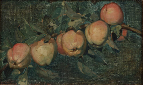 Pieter Willem van Baarsel - Apples on a branch