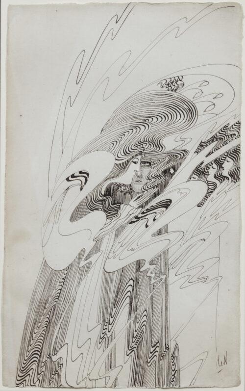 Carel de Neree tot Babberich-Two Figures
