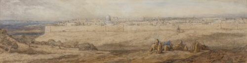 Marius Bauer-View of Jerusalem