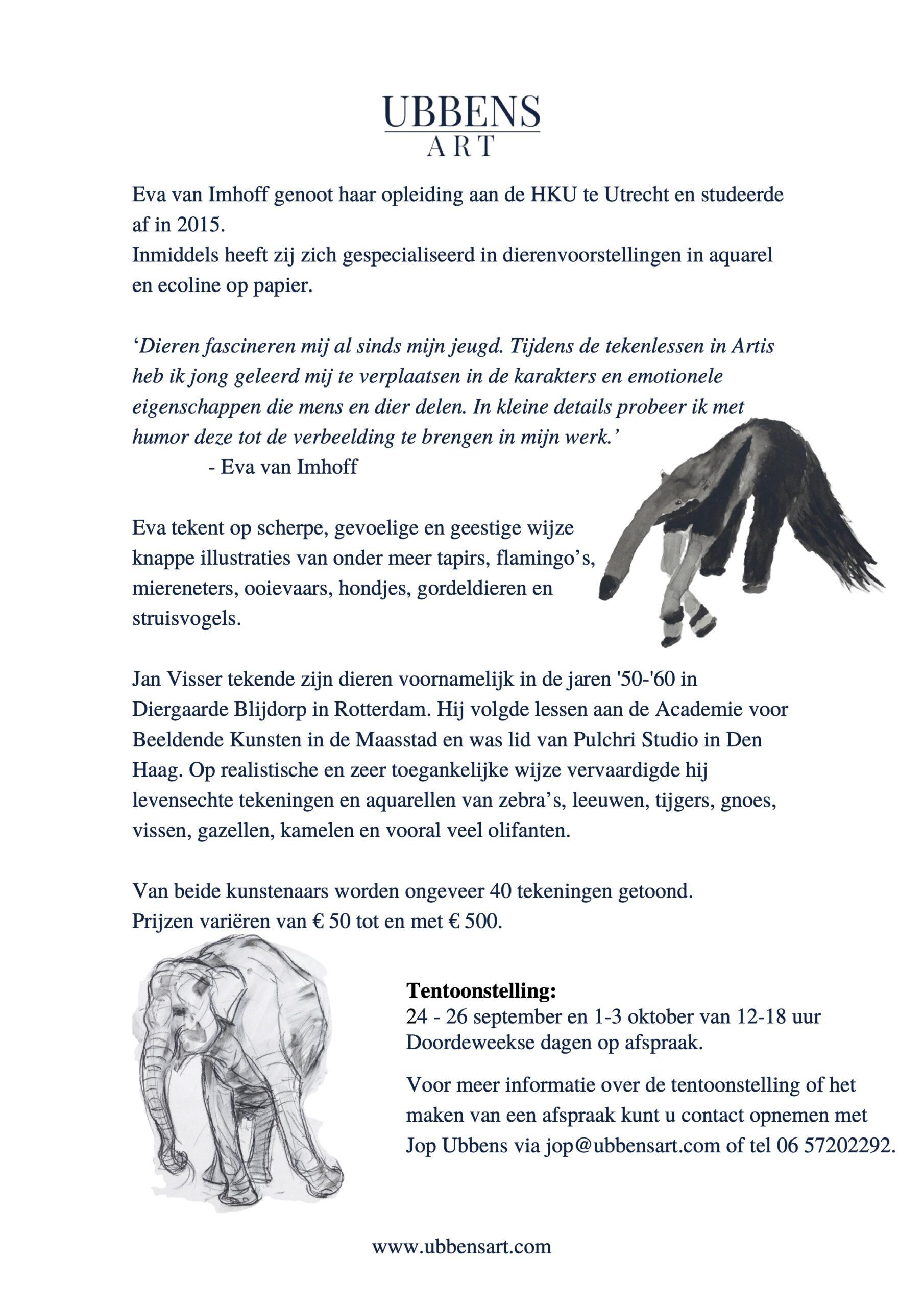 Persbericht tentoonstelling Ubbens Art-02