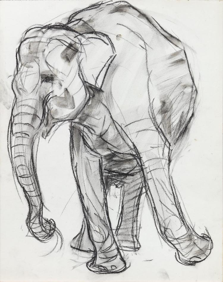 Jan Visser-Dansende Olifant